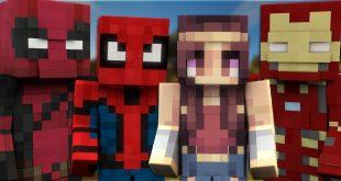 Minecraftnet Minecraft ModsMapsTexture Packs - Skins para minecraft pe de spiderman