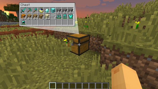 vanilla death chest mod