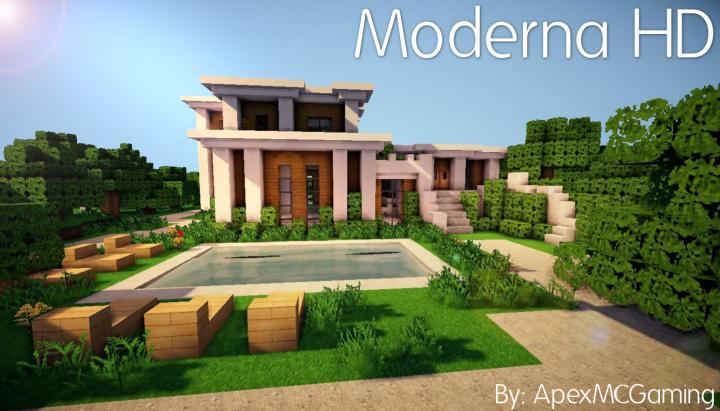 Moderna Pack de Texture HD pour Minecraft 1.10/1.9   Minecraft8.net
