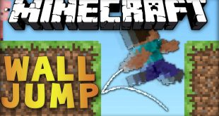 salto de pared mod minecraft